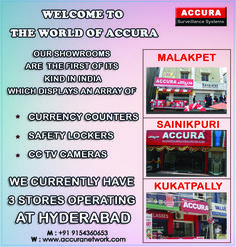 """, Accura Networks is a prominent manufacturer of customized models and Strong Room Doors, used extensively by Jewellery shops, Temples, Banks & Petrol Pumps, etc"