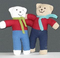 Unlike other websites, we don't try to pitch specific brands of hooks or needles Knitting Bear, Teddy Bear Knitting Pattern, Animal Knitting Patterns, Knitted Teddy Bear, Baby Hats Knitting, Arm Knitting, Baby Patterns, Knit Or Crochet, Crochet Toys