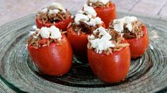 Receta | Tomates rellenos de arroz (Stuffed Tomatoes with Rice)  -  canalcocina.es