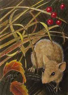 Autumn Mouse by Melody Lea Lamb