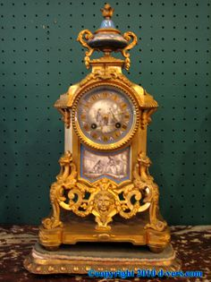 Louis XVI Clock 19th Century French