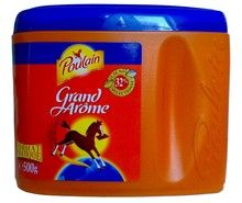 French Powdered Chocolate Aroma Large Poulain-Chocolat En Poudre Grand Arome - Oz Delicious breakfast treat One of the oldest chocolate brands from France No artificial ingredients Great source of calcium, magnesium and phosphorus Imported from France Chocolate Powder, Hot Chocolate Mix, Chocolate Brands, French Kids, French Food, Hot Cocoa Mixes, Afternoon Snacks, Coffee Cans, Gourmet Recipes
