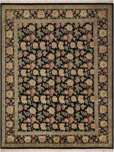 California Shag Collection Italian Design Light Brown Area Rug 53 x 76 Beige