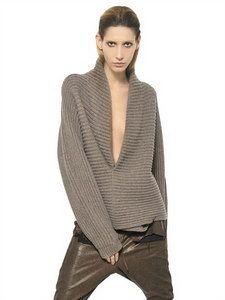 Haider Ackermann - Ribbed Knit Wool Sweater | FashionJug.com