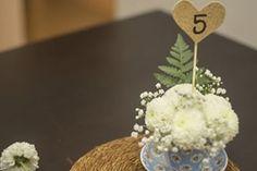 enfeite de mesa bodas de casamento mini