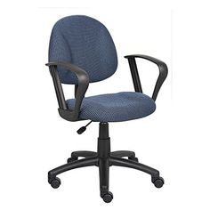 Boss Office Products Boss Black Deluxe Posture Chair W/ Loop Arms Cheap Office Chairs, Round Back Dining Chairs, Floor Protectors For Chairs, Perfect Posture, Most Comfortable Office Chair, Boss Black, Living Room Chairs, Office Furniture, Burgundy