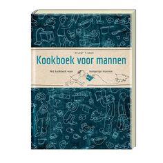Kookboek voor Mannen. Het kookboek voor hongerige mannen. Men Only!  Of je nu een romantisch dineetje wilt maken of een paar hongerige kinderen wilt voeden, dit boek met 128 pagina's helpt je op weg met duidelijk omschreven recepten.