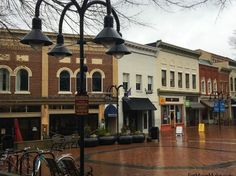 Downtown Mall Charlottesville Virginia
