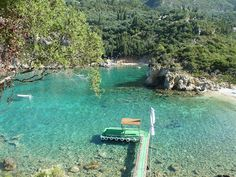 Paleokastritsa: Crystal clear water perfect for swimming and snorkelling.  Photo by www.gosoutheast.info