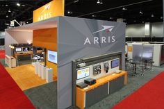 Arris at CableTech using Thunder --lightweight 20-foot walls.