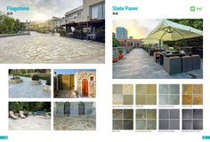 Slate Pavers, Flagstone, Product Catalogue, Black Granite, Quartz Countertops, Building Materials, White Marble, Mansions, House Styles