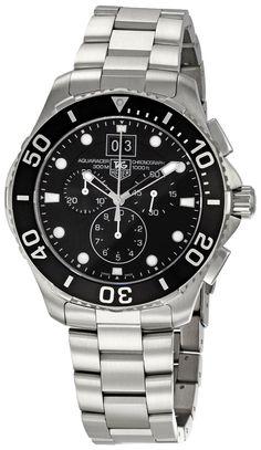 TAG Heuer Men s CAN1010BA0821 Aquaracer Chronograph Watch Tag Heuer  Aquaracer Chronograph bd2857bad9