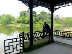Enjoying some quiet time in the surroundings of Nanjing