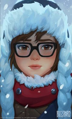 ArtStation - Overwatch|Mei animated short, Jungah Lee