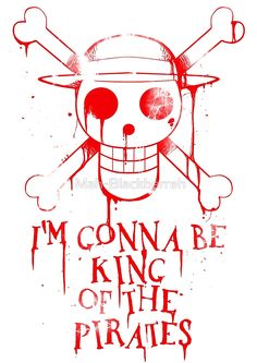 Luffy: Straw Hat Pirates – One Piece One Piece Quotes, One Piece Logo, One Piece Tattoos, One Piece Manga, Logo Anime, Fanart Manga, One Peace, The Pirate King, Me Anime
