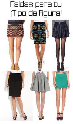 Faldas para diferentes tipos de cuerpo - MODA LISTA | BLOG DE MODA