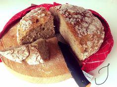 helppo_gluteeniton_leipä Gluten Free Baking, Gluten Free Recipes, Free Food, French Toast, Food And Drink, Bread, Cooking, Breakfast, Glutenfree