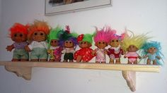 Russ Troll Dolls Collection 1