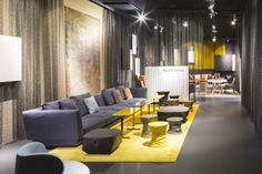 WALTER KNOLL stand at imm cologne by Ippolito Fleitz Group, Cologne » Retail Design Blog