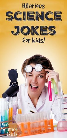 Hilarious science jokes for kids - so funny!