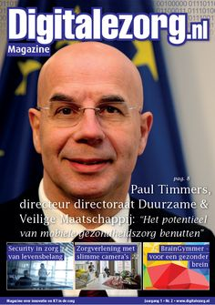 Abonneer u nu op het nieuwe magazine gericht op ZorgICT en Innovatie: Digitalezorg.nl Magazine!
