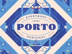 Herb Lester Associates - Porto Guide by Elen Winata - Dribbble