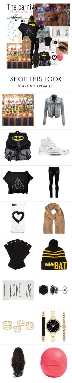 """The carnival with Liam"" by maydayhailee ❤ liked on Polyvore featuring Payne, LE3NO, Converse, Paige Denim, Zero Gravity, Maison Margiela, Johnstons, Love Quotes Scarves, Pink Marmalade and BERRICLE"