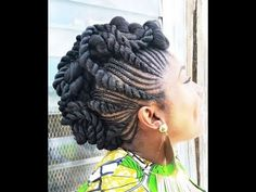 Different braids with a twist - June 01 2019 at Natural Hair Twist Out, Natural Hair Updo, Natural Hair Care, Natural Hair Styles, Natural Updo Hairstyles, Natural Twists, Twist Hairstyles, African Hairstyles, Black Hairstyles