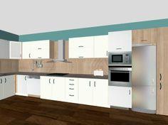 biela leska #kuchyna #nabytokbetak #nabytok #kuchynasnov #kuchynanamieru #3d #vizualizacia #interierovydizajn