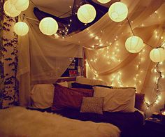Romantic forts | Date night <3
