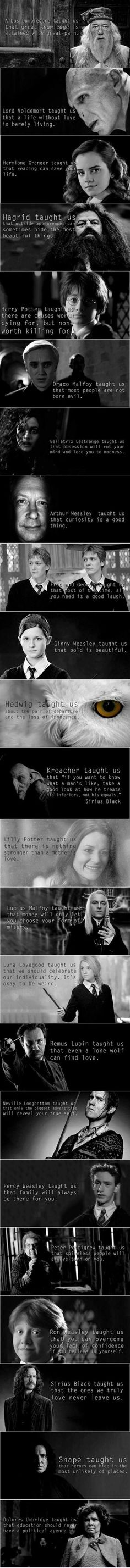 the moral of Harry Potter is. And the moral of Harry Potter is.And the moral of Harry Potter is.