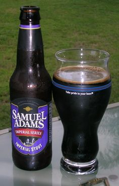 Samuel Adams Imperial Stout. A fair and fairly typical RIS, but not a whole lot to stand out.