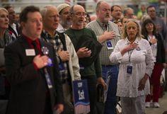 Washington state GOP convention backs Cruz over Trump