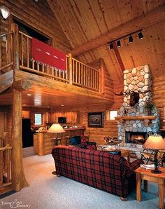 Gorgeous Rustic Cabin Interior Idea (32)