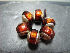I love these Sparkling Rocks Beads! by GlassBeadArt ...    by GlassBeadArt