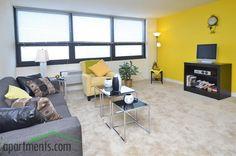Warm colors, nice windows...Sheridan-Gunnison Apartments