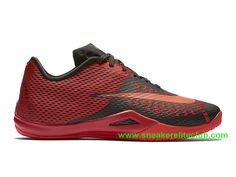 new concept 6a329 2843b Nike HyperLive EP Homme Pas Cher Noir Rouge 819663 600-1603161960 - Chaussure  Nike BasketBall Magasin
