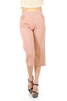 Le's - Pantaloni - Abbigliamento - Pantaloni in viscosa con stampa floreale, lunghezza al polpaccio. Tasche laterali e zip di chiusura sul lato.La nostra modella indossa la taglia /EU 38. - 10 - € 148.00