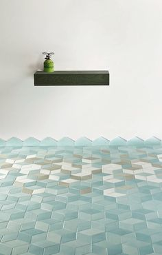 Tex-tile, a multi-colored ceramic tile collection from Mutina