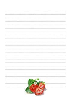 Strawberry paper