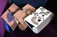 Venta Moderno madera seda bolso embrague madera madera