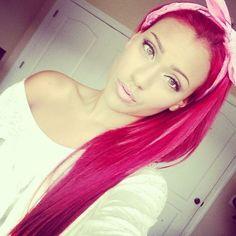 Like her makeup!