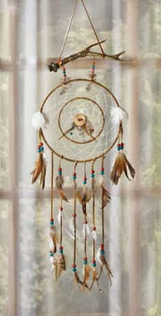 Dream catcher- These will be hanging in my next home