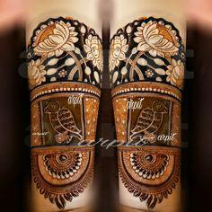 Dulhan Mehndi Designs, Bridal Henna Designs, Unique Mehndi Designs, Beautiful Mehndi Design, Latest Mehndi Designs, Henna Mehndi, Henna Art, Baby Mehndi Design, Heena Design
