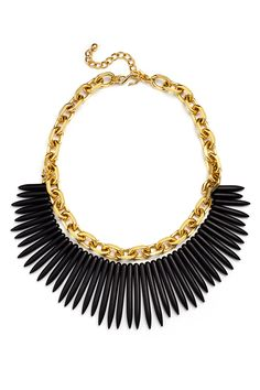 Kenneth Jay Lane Night Claw Necklace