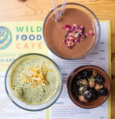 The most fabulous place to go in Covent Garden...The Wild Food Cafe