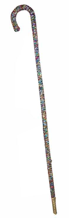 Belly Dance Sequined and Beaded Cane