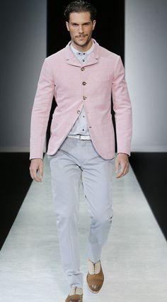 Giorgio Armani Menswear Spring Summer 2014