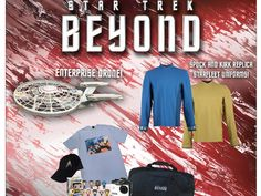 Enter The AMC Star Trek Beyond Prize Pack Sweepstakes for a chance to win a Star Trek Beyond Prize Package worth $714!