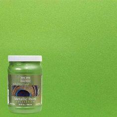 1-qt. Green Apple Metallic Interior/Exterior Paint